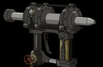 甲鉄城のカバネリ ツラヌキ筒