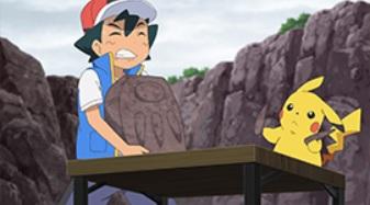 アニメ【ポケットモンスター(剣盾)】50話のあらすじと見どころ紹介!化石を合わせて復元されたポケモンとは!?