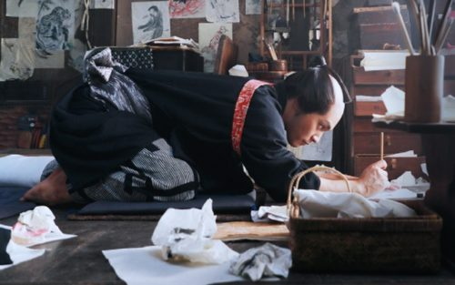 映画【HOKUSAI 北斎】のあらすじ